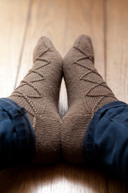 Business Casual Sock by Izzie Knits 1