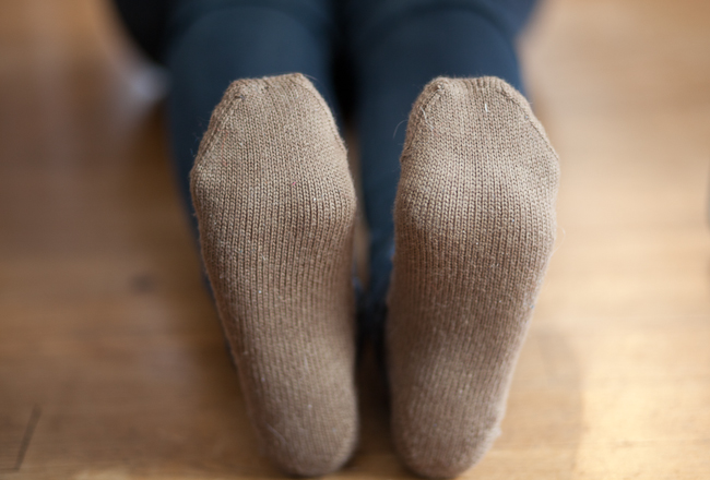 Business Casual Sock by Izzie Knits 2